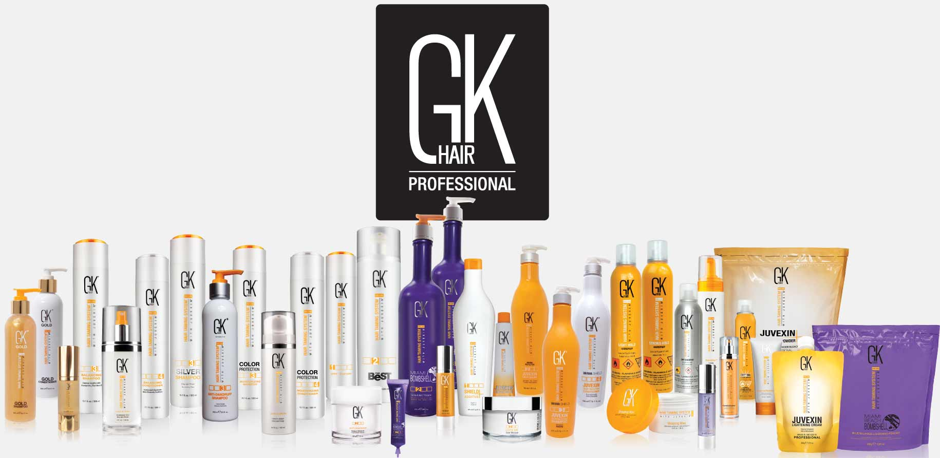 GKhair all product line is available in cosmeticatrading