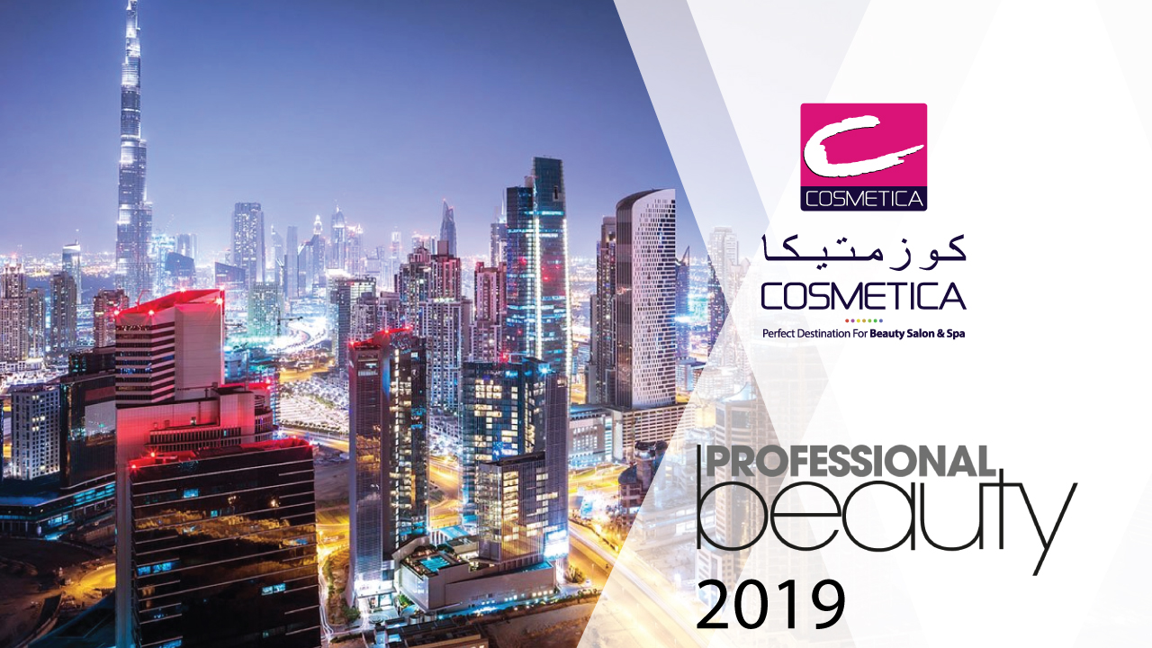 COSMETICA's Stand on Professional Beauty GCC 2019