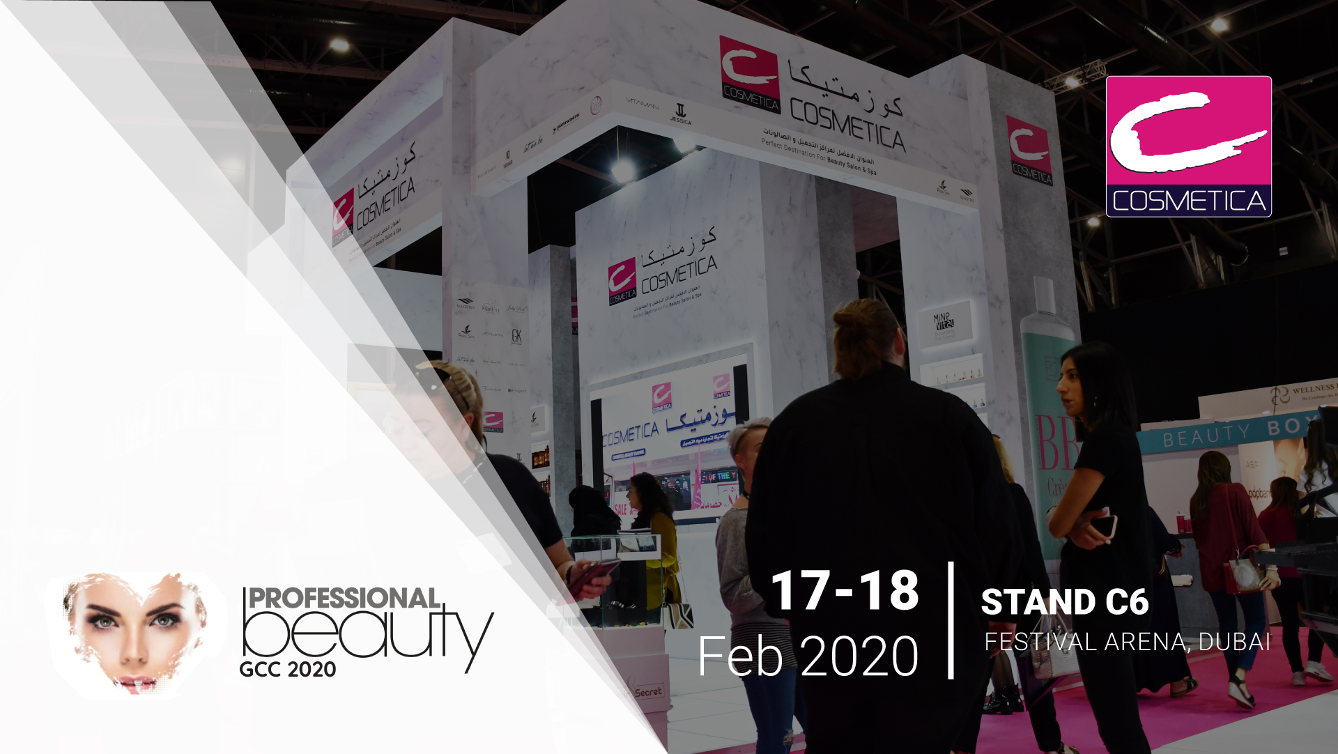 Successfully participated in Professional Beauty GCC 2020, Proud to be the Bronze Sponsor for the event
