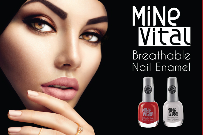 mine vital breathable nail polish