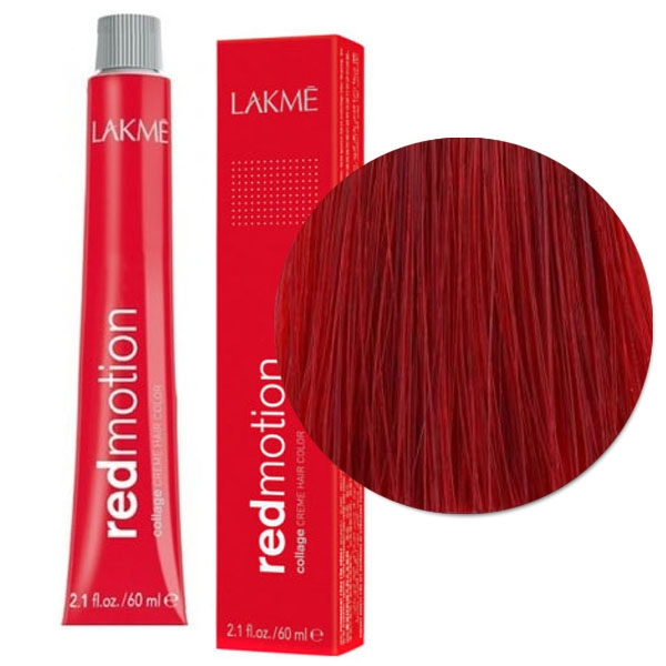 lakme collage red motion creme hair color