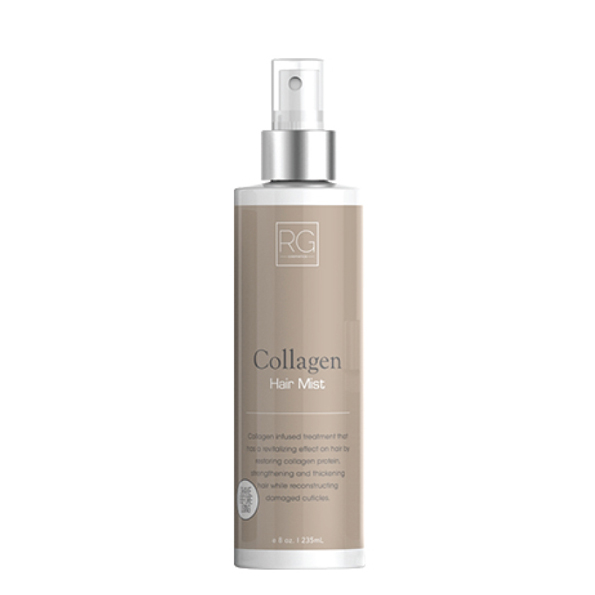 RG COSMETICS COLLAGEN HAIR MIST 8oz