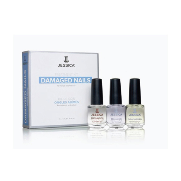 JESSICA TREATMENT KIT FOR DAMAGED NAILS