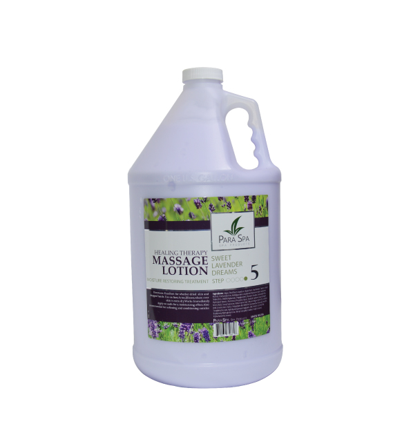 PARA SPA MASSAGE LOTION LAVENDER 1 GAL