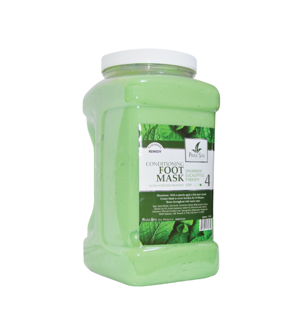 FOOT MASK - GREEN SPEARMINT 1 GAL