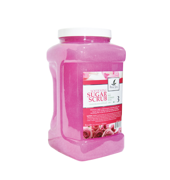 SUGAR SCRUB - ROSE 1 GAL