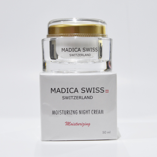 MADICA SWISS MOISTURISING NIGHT CREAM 50ML