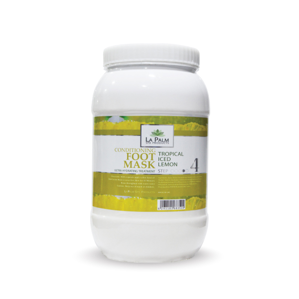 LA PALM FOOT MASK - ICED LEMON 1 GAL