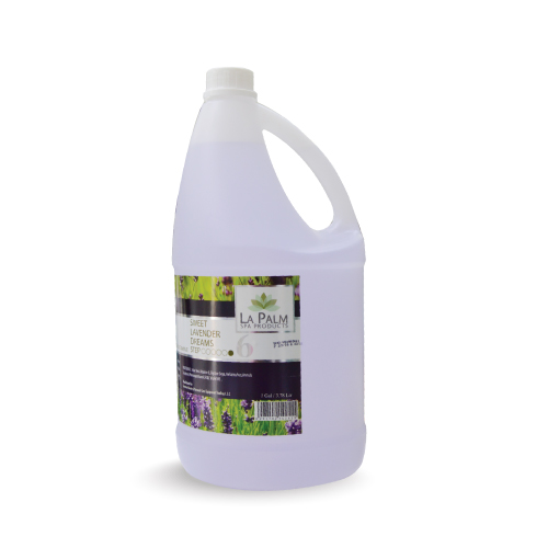 LA PALM MASSAGE OIL LAVENDER 1 GAL