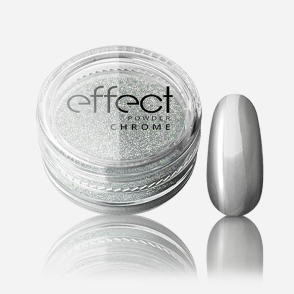 silcare chrome effect powder
