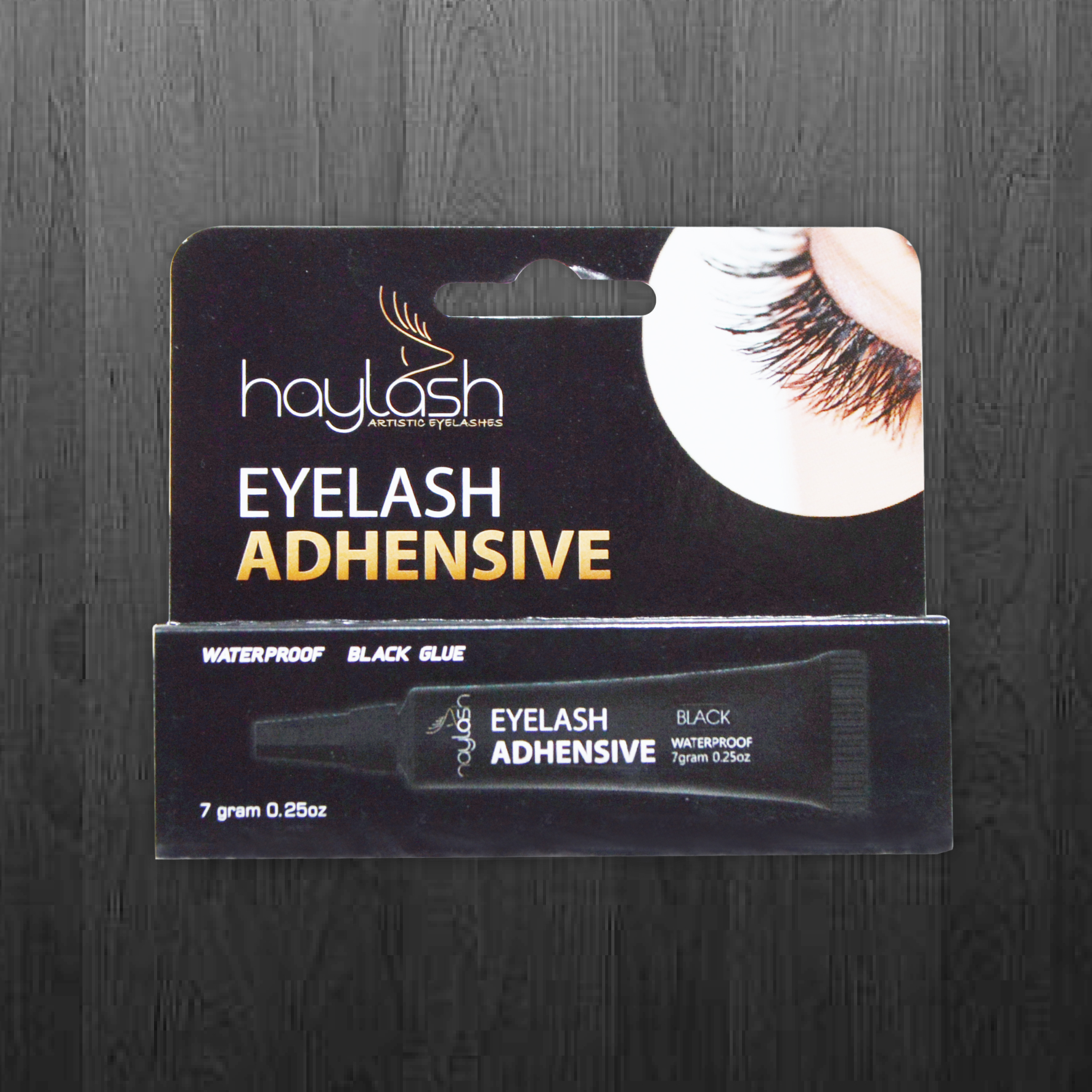 HAYLASH EYELASH BLACK GLUE ADHENSIVE