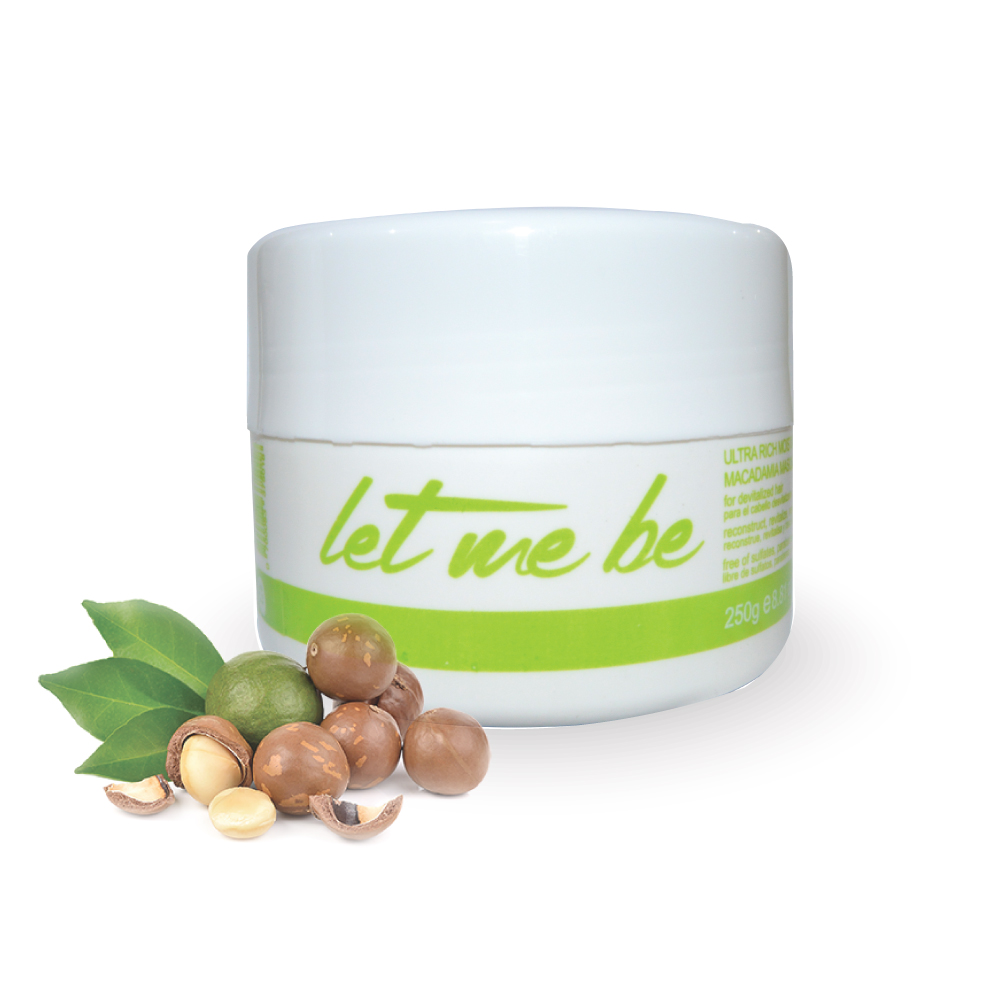LET ME BE MACADAMIA MOISTURIZING MASK MACADAMIA