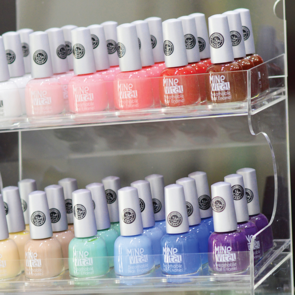 Breathable nail polish available in Dubai