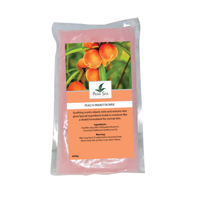 para spa parraffin wax orange