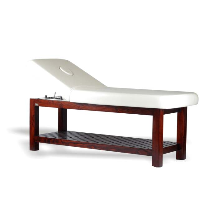 Mangal Massage Bed - Massage cum facial table for economy spas and salon purpose