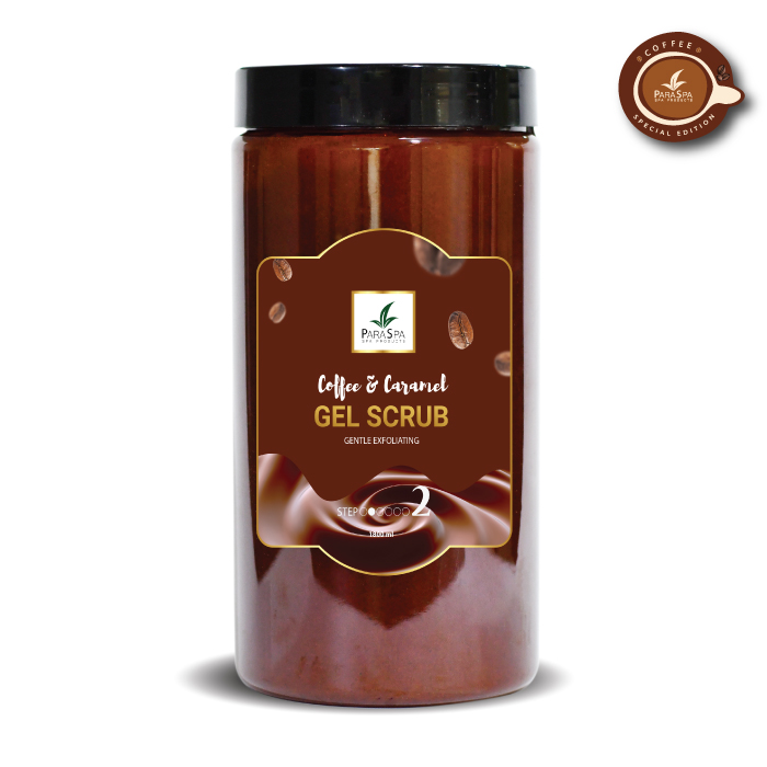 PARA SPA COFFEE CARAMEL GEL SCRUB