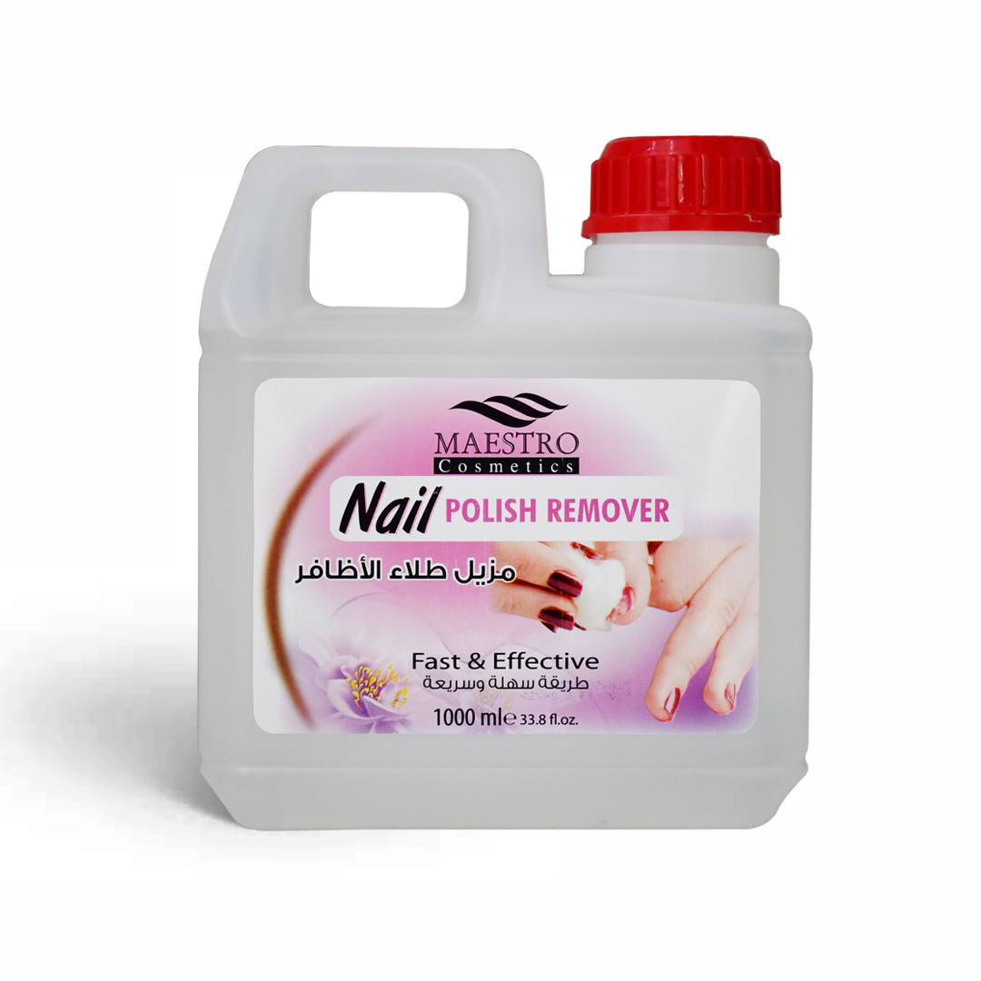 nail polish remover from maestro brand in cosmetica beauty trading company in dubai