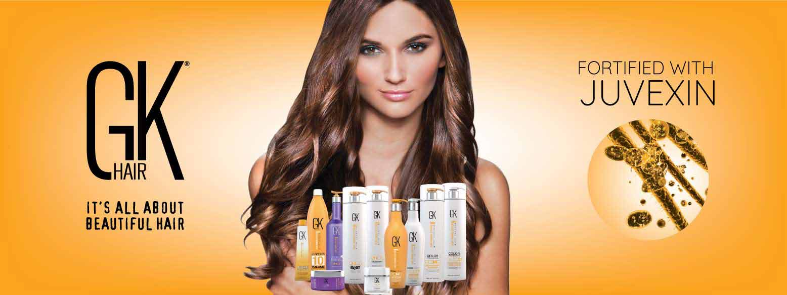 GK hair products in Dubai, UAE, the best hair care products